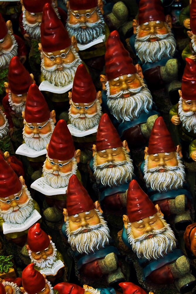 Gnomes by ajgosling