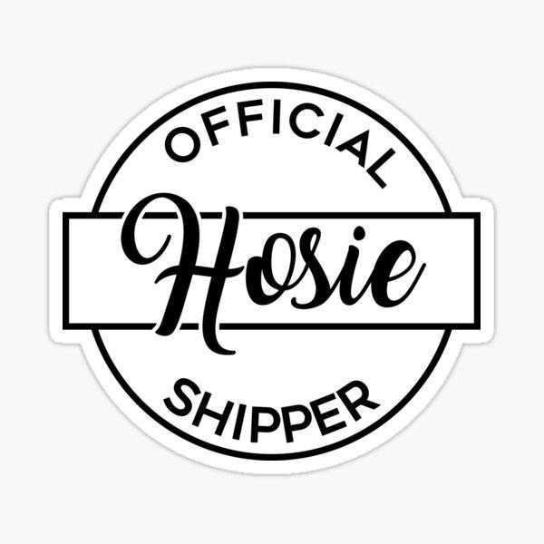 Official Hosie Shipper Sticker