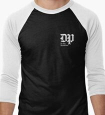 The DP Square White Logo Baseball ¾ Sleeve T-Shirt