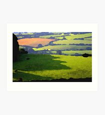 Exmoor Art Print