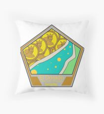 The Mythical City Floor Pillow