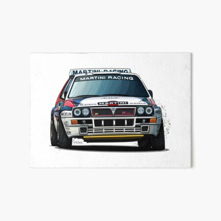 Photo Sport Lancia Delta Rally Classic Car Giant Wall Art Poster Print