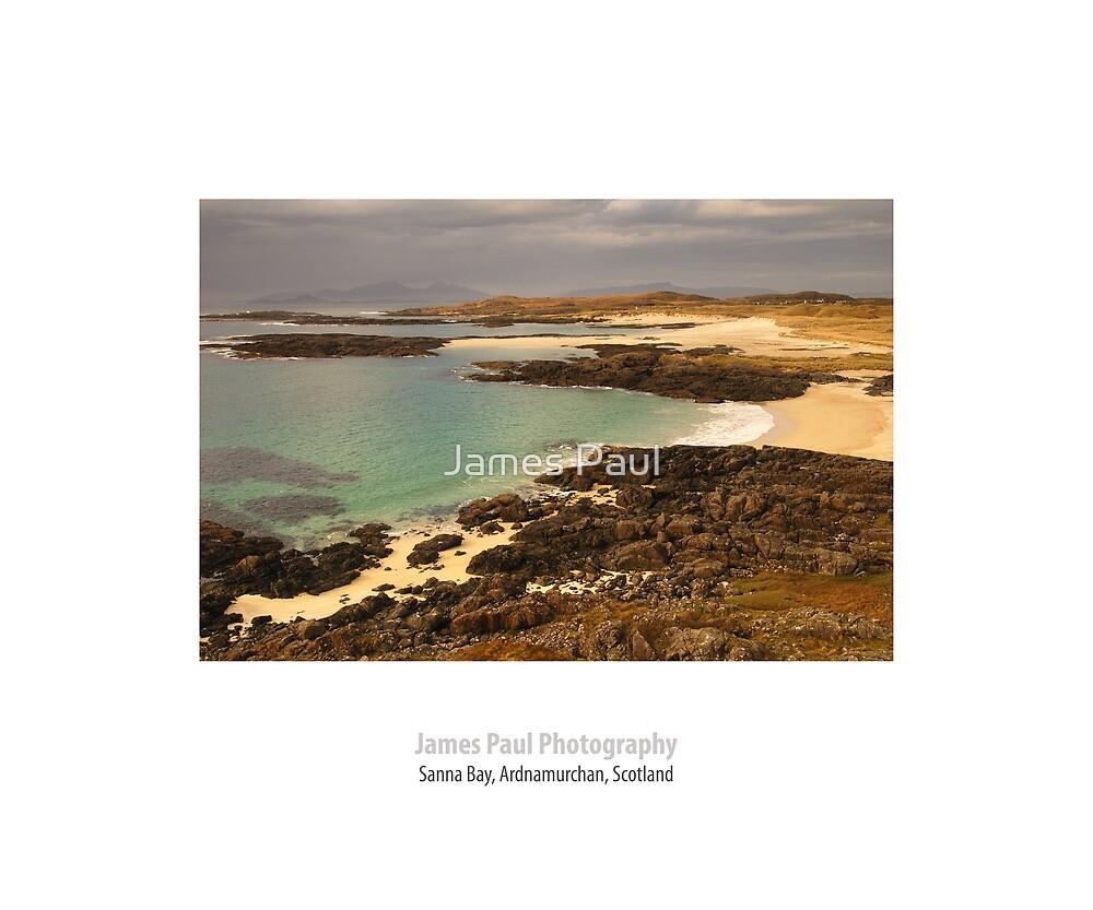 Sanna Bay, Ardnamurchan, Highland, Scotland by James Paul