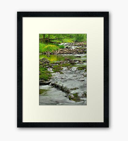 Rolling River Framed Print