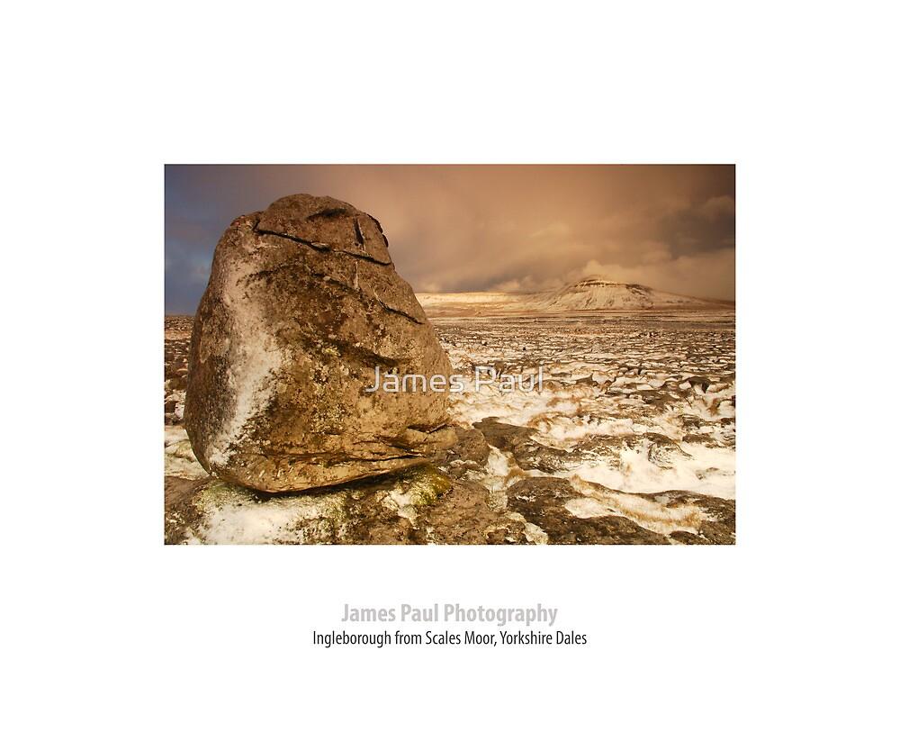 Ingleborough from Scales Moor, Ingleton, Ribblesdale, Yorkshire Dales by James Paul