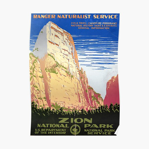 National Park Service Posters Redbubble
