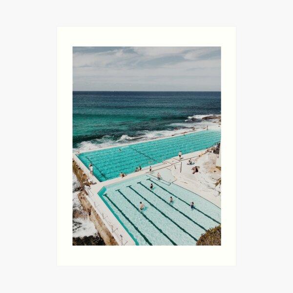 Bondi Icebergs, Sydney Australia Art Print
