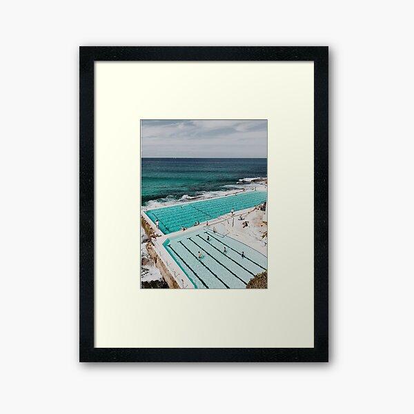 Bondi Icebergs, Sydney Australia Framed Art Print