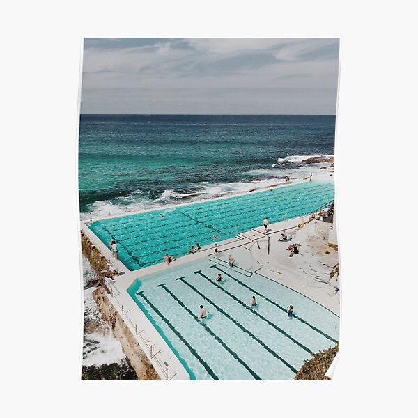 Bondi Icebergs, Sydney Australia Poster