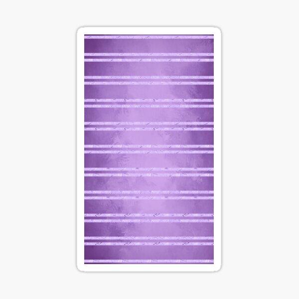 Purple Foil Stripes  Sticker