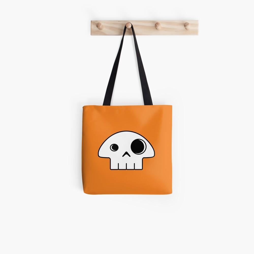 Mushroom Skull Tote Bag