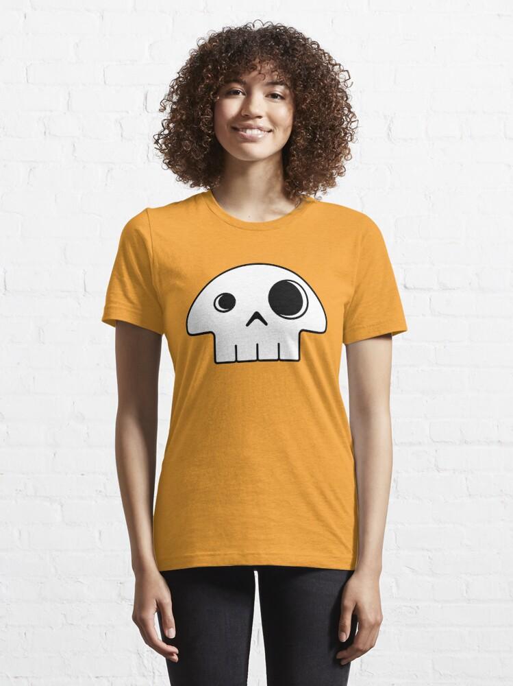 Alternate view of Mushroom Skull Essential T-Shirt