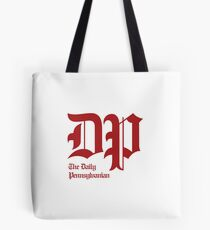 The DP Square Red Logo Tote Bag