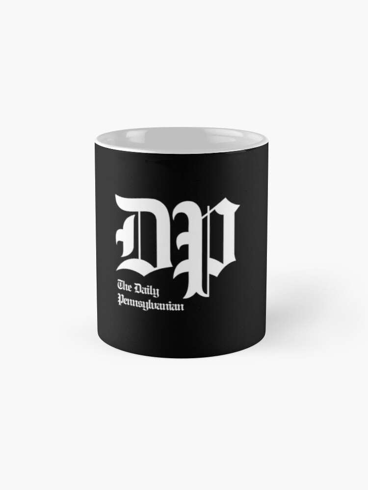 Alternate view of The DP Square White Logo Mug