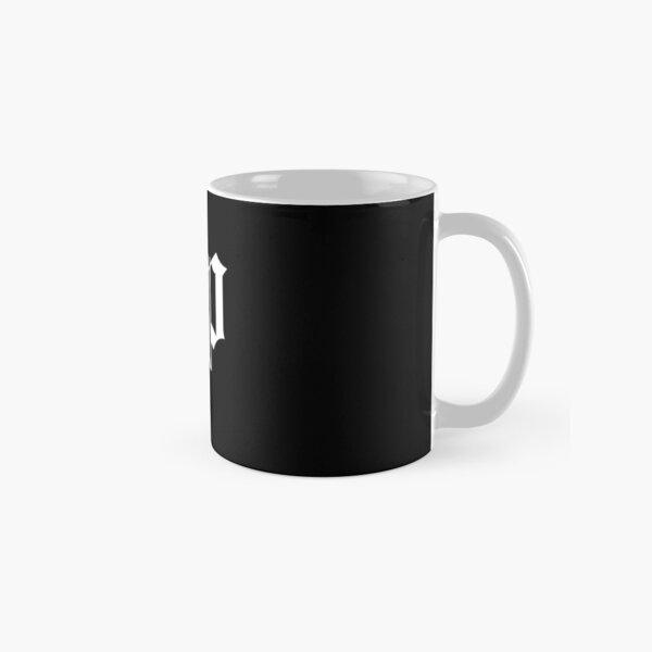 The DP Square White Logo Classic Mug