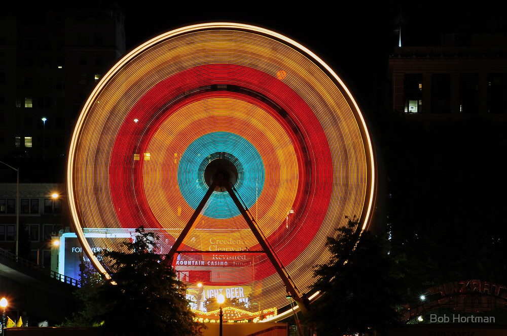 Ferris Wheel by Bob Hortman