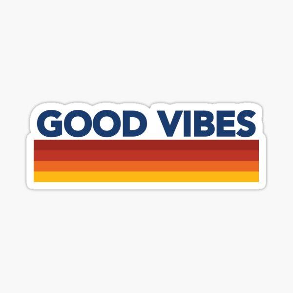 Good Vibes Retro- 1 Sticker