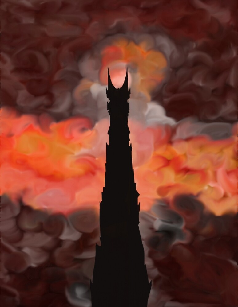 The Tower of Sauron by Bang-Bang-Oh