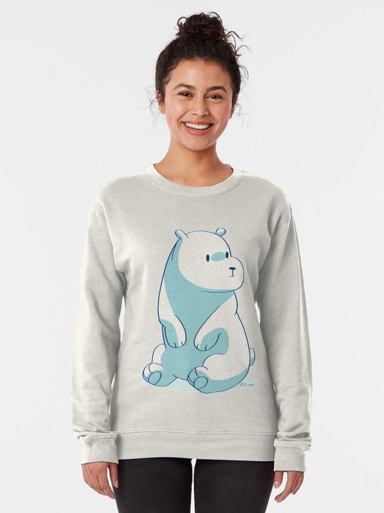 Alternate view of Ice Bear Pullover Sweatshirt