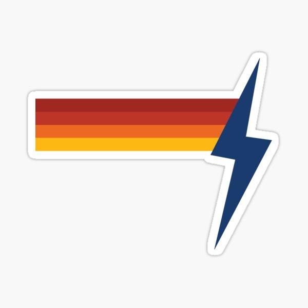 Retro Lightning Sticker