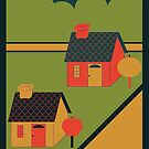 Twoson Poster, Earthbound by nickfolz