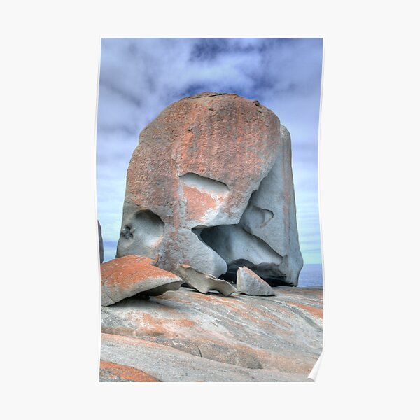 Remarkable Rocks, Kangaroo Island, South Australia (HDR) Poster