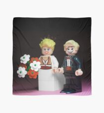 Lego Bride and Groom Scarf