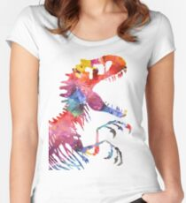 Funkodominus Rex Women's Fitted Scoop T-Shirt