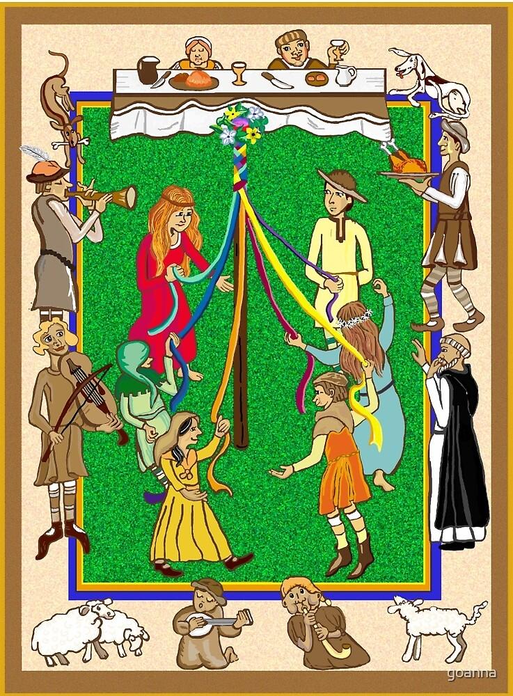 Medieval  feast  by goanna