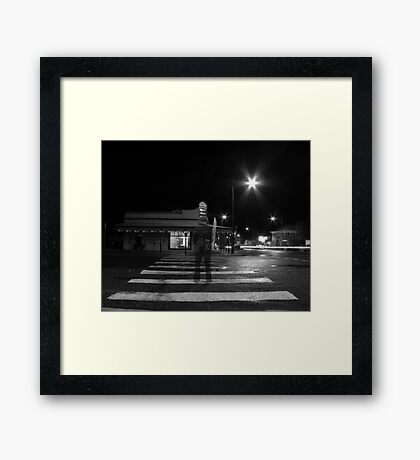 then just for a moment... I would materialise Framed Print