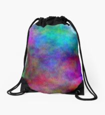 Nebula - Dreamy Psychedelic Space Inspired Art Drawstring Bag