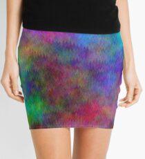 Nebula - Dreamy Psychedelic Space Inspired Art Mini Skirt