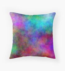 Nebula - Dreamy Psychedelic Space Inspired Art Throw Pillow