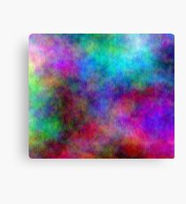 Nebula - Dreamy Psychedelic Space Inspired Art Canvas Print