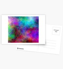 Nebula - Dreamy Psychedelic Space Inspired Art Postcards