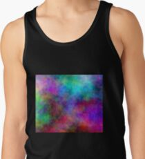 Nebula - Dreamy Psychedelic Space Inspired Art Men's Tank Top