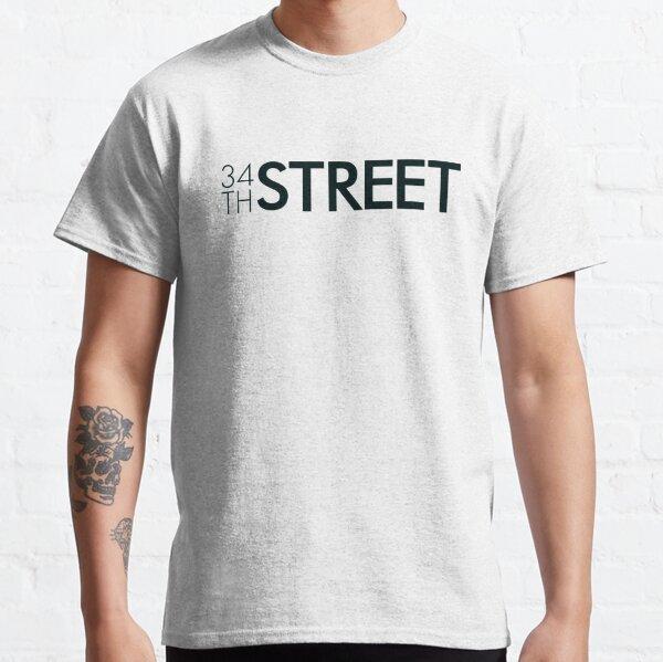 34th Street Magazine Black Logo Classic T-Shirt