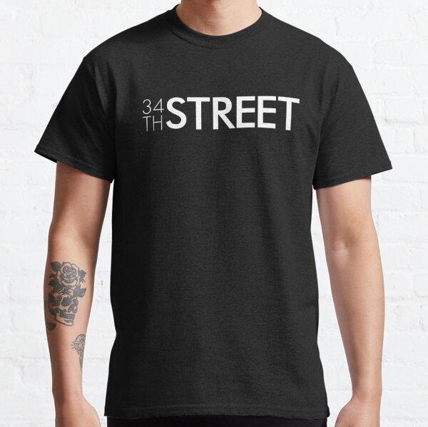 34th Street Magazine White Logo Classic T-Shirt