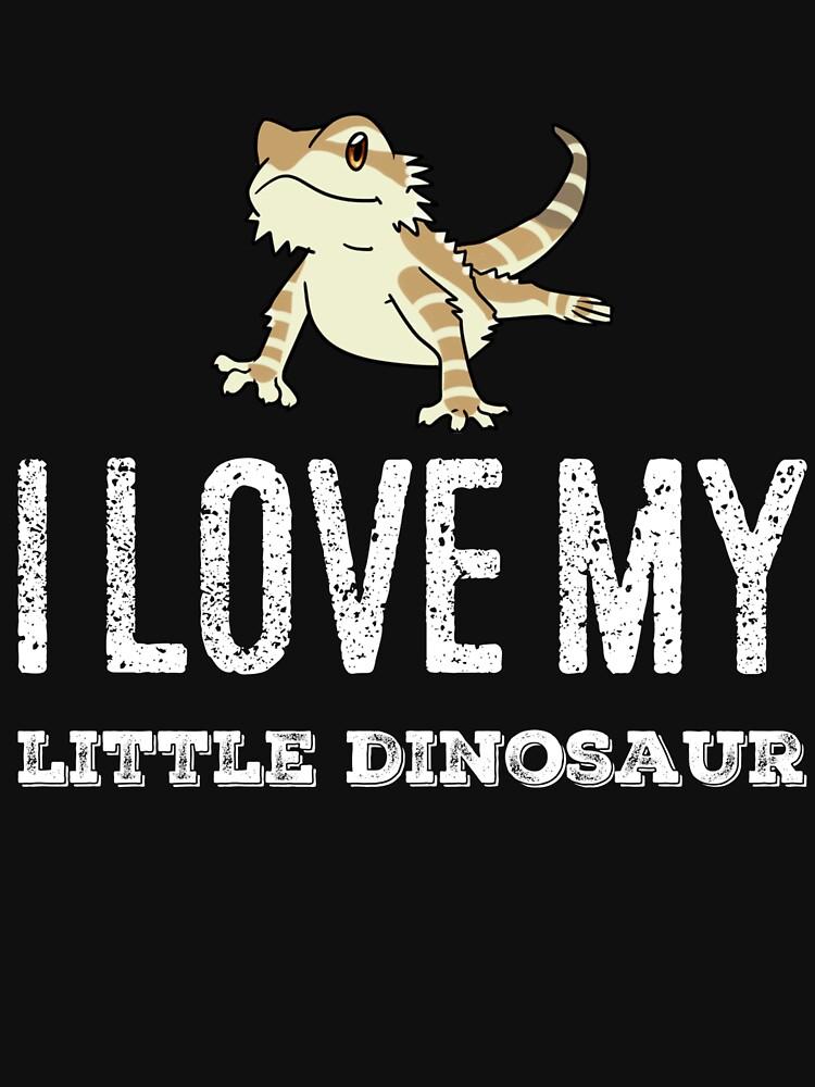 Ich liebe meinen kleinen Dinosaurier von TrendJunky