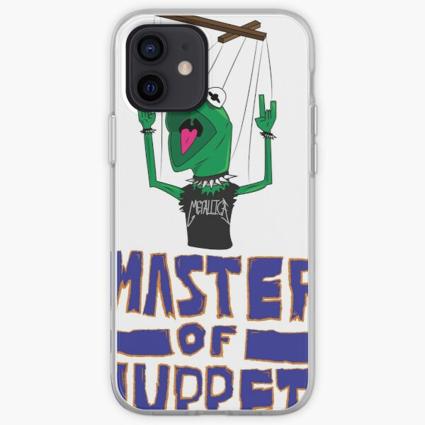 Master Of Muppets Coque souple iPhone