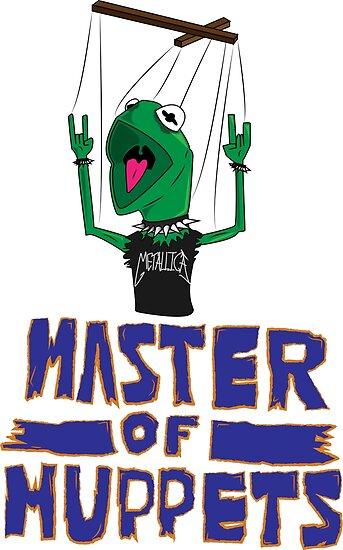 Master Of Muppets by Jakob MacDonald