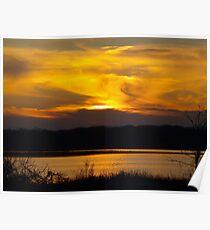 Hagerman Sunset 190 Poster