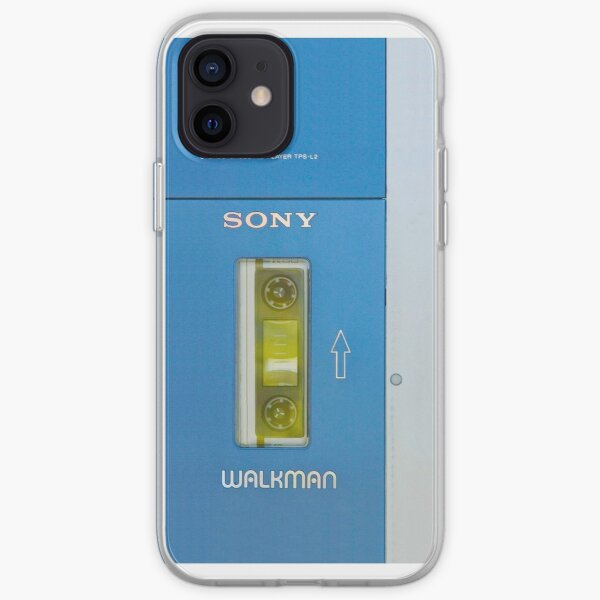 Old sony walkman is back, vers 2 iPhone Soft Case