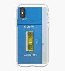 Old sony walkman is back, vers 2 iPhone Case