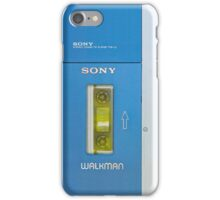 Old sony walkman is back, vers 2 iPhone Case/Skin
