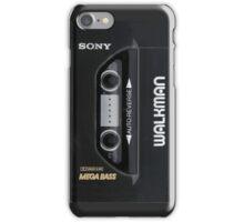 Sony walkman iPhone Case/Skin