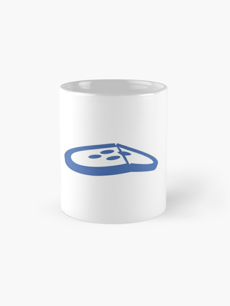 Alternate view of Under the Button Classic Logo Mug