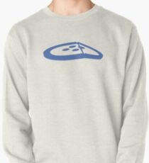 Under the Button Classic Logo Pullover Sweatshirt