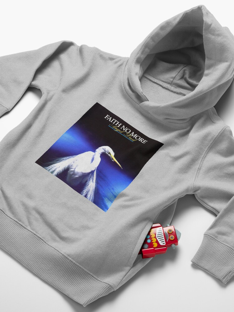 Alternate view of faith no more - angel dust Toddler Pullover Hoodie