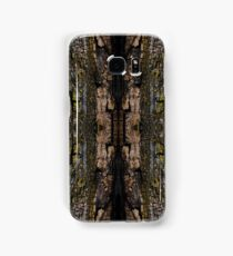 Mossy wood bark pattern Samsung Galaxy Case/Skin